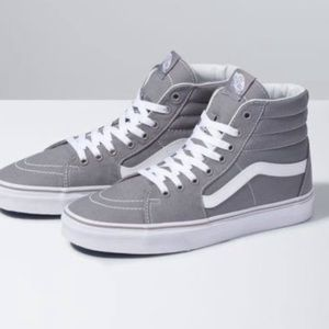 VANS unisex grey high tops